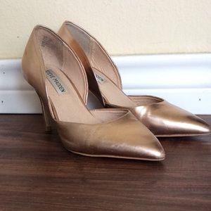 Steve Madden Rose Gold Heels Size 5